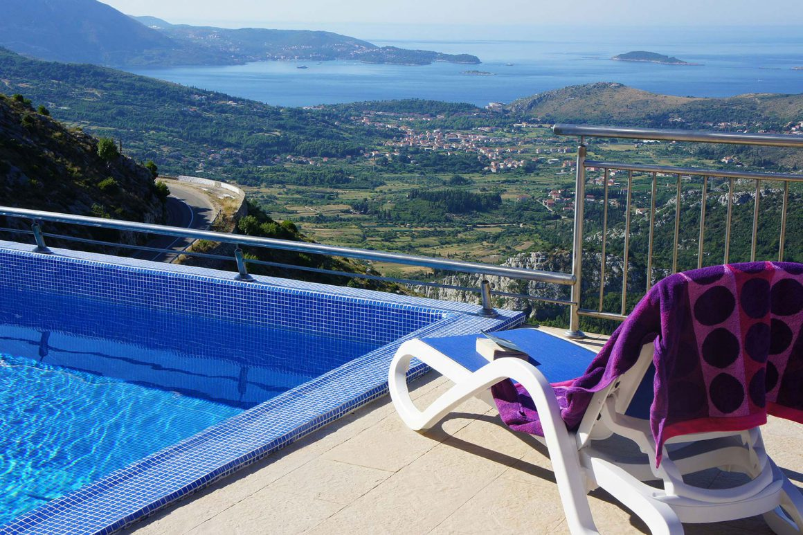Luxury-Villa-Cruz-wonderful-view-from-the-terrace-and-private-pool-to-Dubrovnik-Riviera