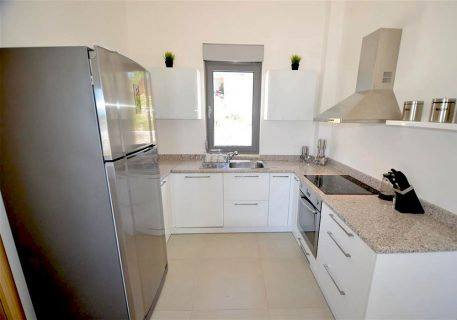 Villa Lule-kitchen with microwave, fridge, dishwasher and washing machine