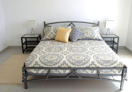 Villa Lule-master bedroom with air-conditioning and luxury cotton linen