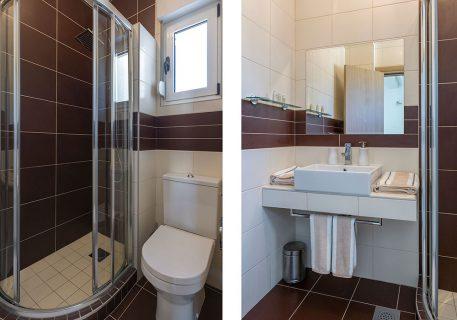 Villa Stone-adjacent bathroom to the Twin room