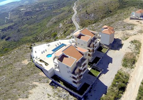 Luxury Apartments Iva and view to the Dubrovnik Riviera
