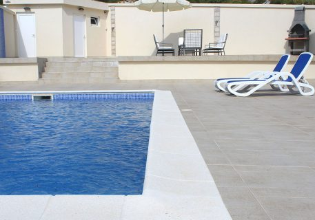 Villa Arc-terrace with private pool sun beds and umbrellas for your relaxation
