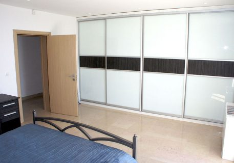 Villa Cruz-master bedroom with built-in wardrobes