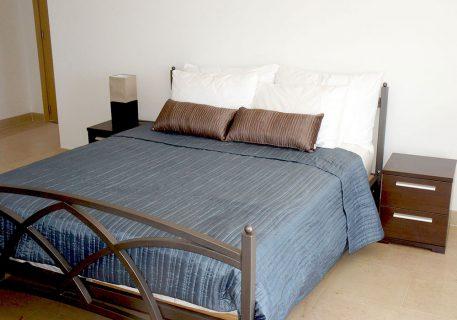 Villa Cruz-master bedroom with air-conditioning