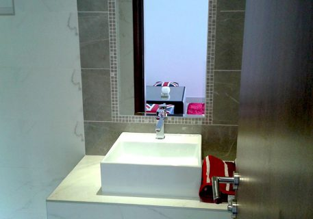 Villa Price-downstairs WC and shower room