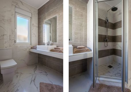 Villa Price-ensuite bathroom to the Master room with walk-in shower