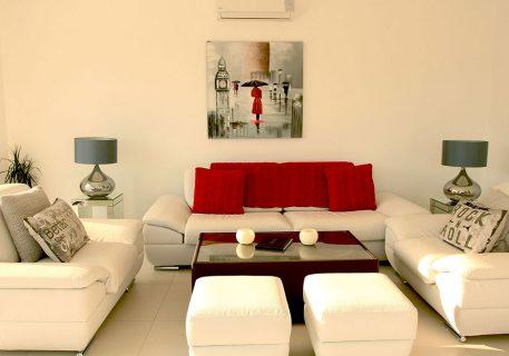 Villa Price-modern luxury furnishings and comfortable sofas