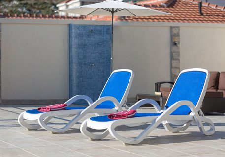 Villa Price-sunloungers, umbrella and outdoor shower for your comfort