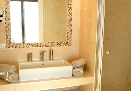 Villa Queen-en-suite bathroom to the Master bedroom with large walk-in shower