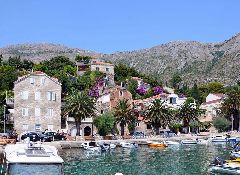 Beautiful peaceful fishing village of Mlini