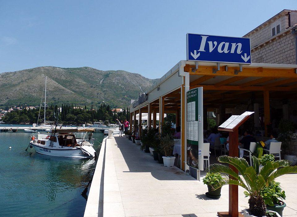 Cavtat restaurants : restaurant Ivan -3