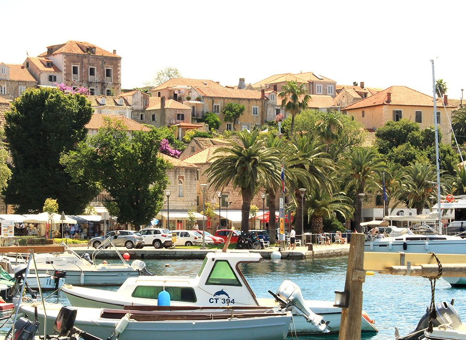 Explore Cavtat-The busy sea front, with market stalls, bars and restaurants is great for 'people watching'.