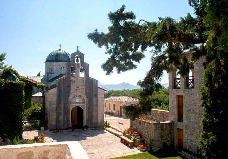 The monastery, with 4th Century foundations-Trebinje