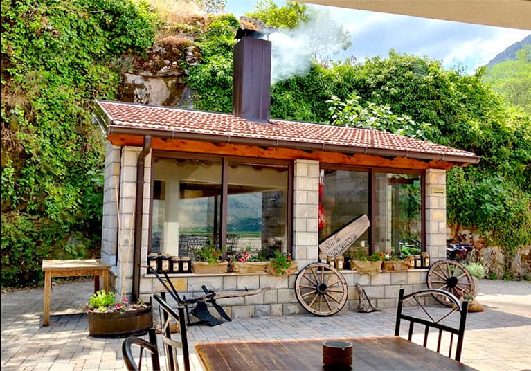 A Bbq usually happens daily along with occasional spit roasts-Restaurant Zavala