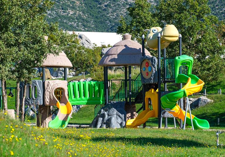 Activity play ground-Aqua and Dino park in Trebinje