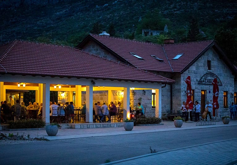 Evenings in Zvala-Restaurant Zavala