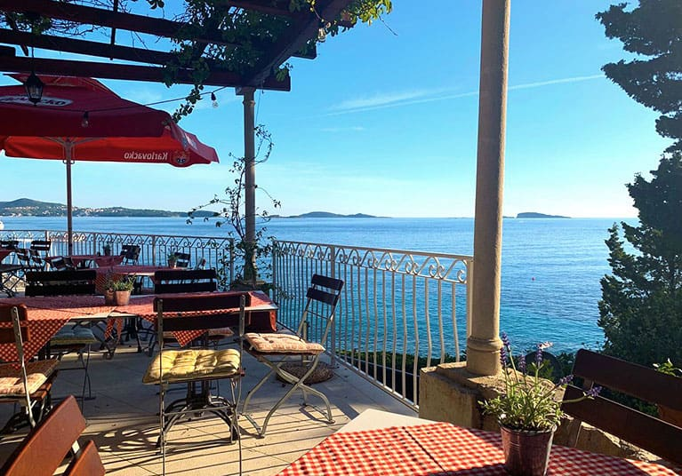 Friendly, good food and a fab view-Restaurant and cafe bar G