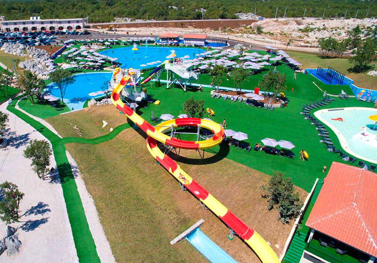 The Aqua Park in Trebinje offers something for all the family
