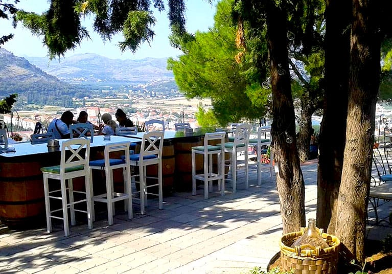 Cafe offering a perfect place to refresh and take in those views-Trebinje