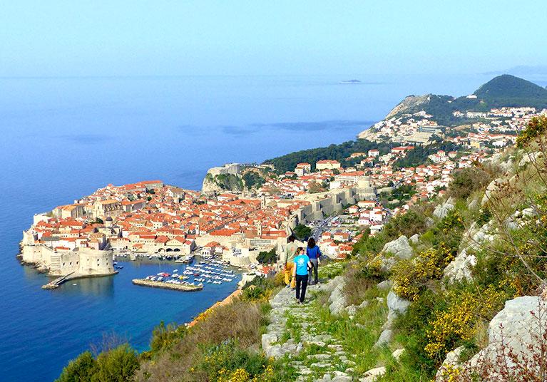 Hiking Dubrovnik-A good walking path