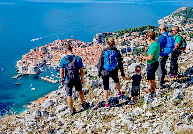 Hiking Dubrovnik-A suitable activity for all the family