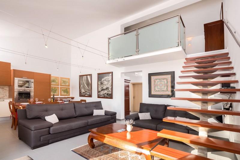 Luxury Villa Zizanj-Modern open plan living means everybody is included
